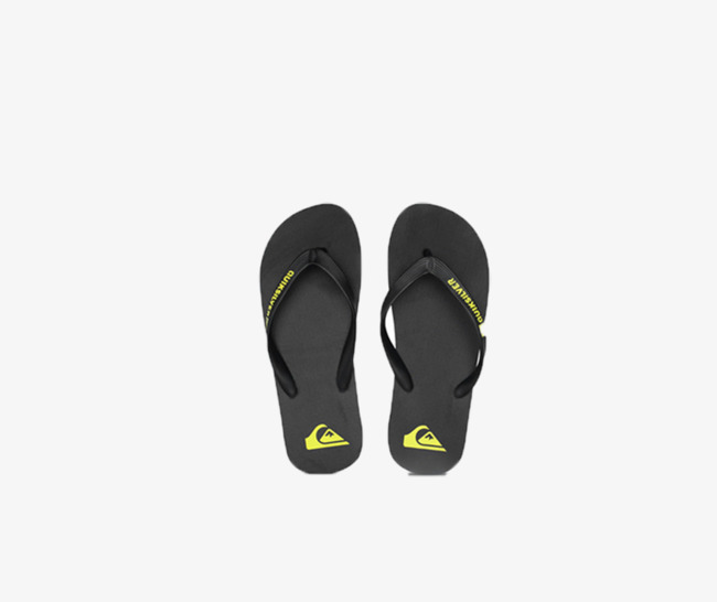 Slippers clipart sandles. Sandals and quiksilver simple