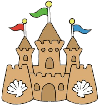 Sandcastle clipart. Sand castle transparent png
