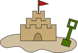 Sandcastle clipart sand house. Castle at getdrawings com