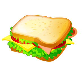 sandwich clipart meat sandwich