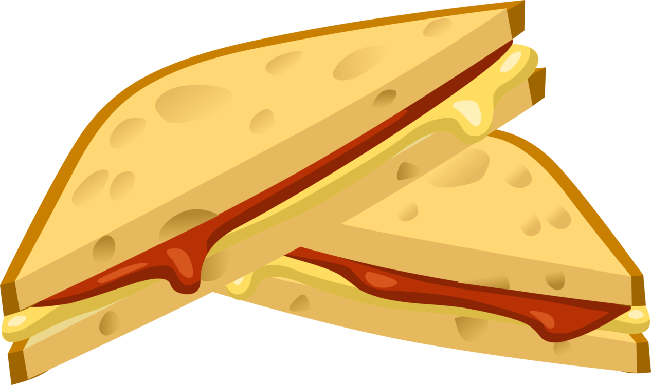 Ham and cheese sandwich. Tuna clipart vector library