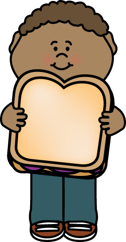 Sandwich clipart peanut butter sandwich. Kid with and jelly
