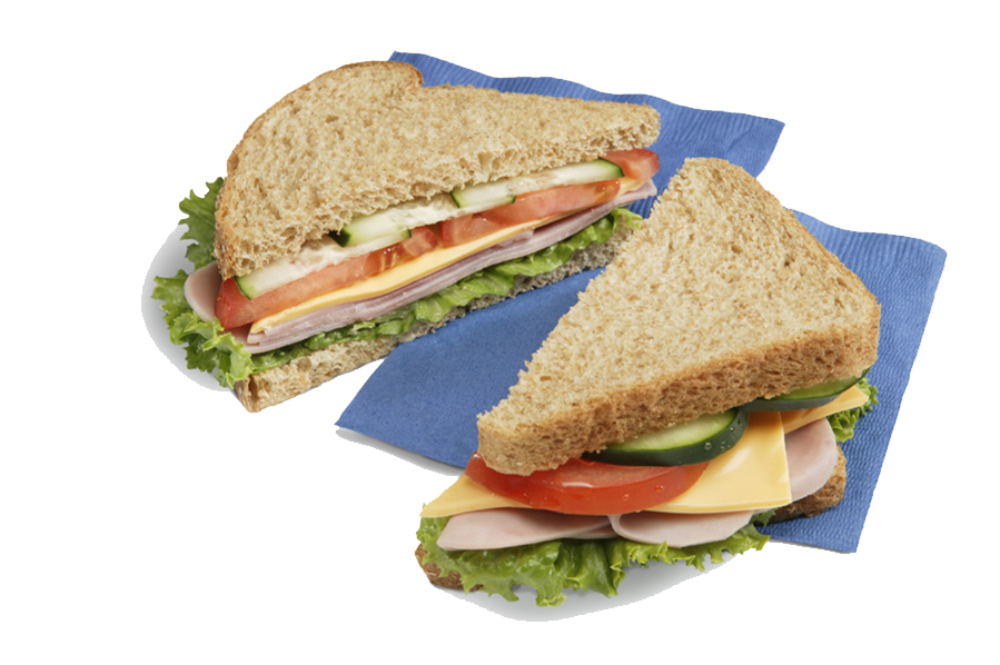 Vector sandwich turkey. Png transparent images all