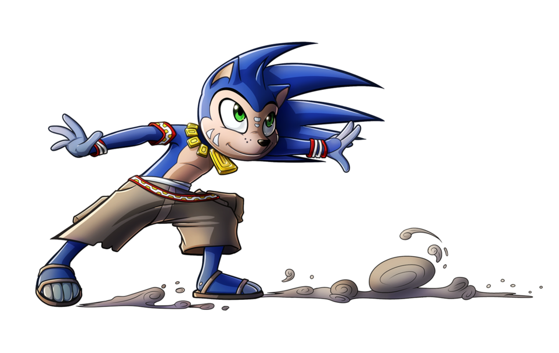 Sonic boom concept by. Sanic drawing realistic clip freeuse library