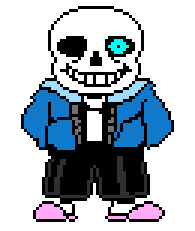 Sprite bad time pixel. Sans eye png vector transparent library