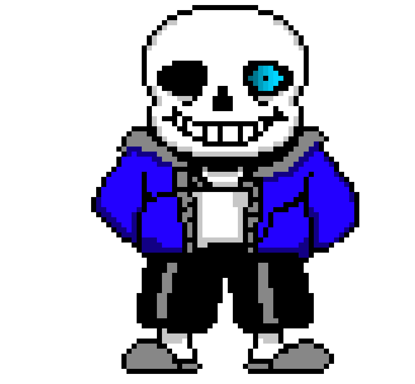 Sans eye png. Glowing pixel art maker