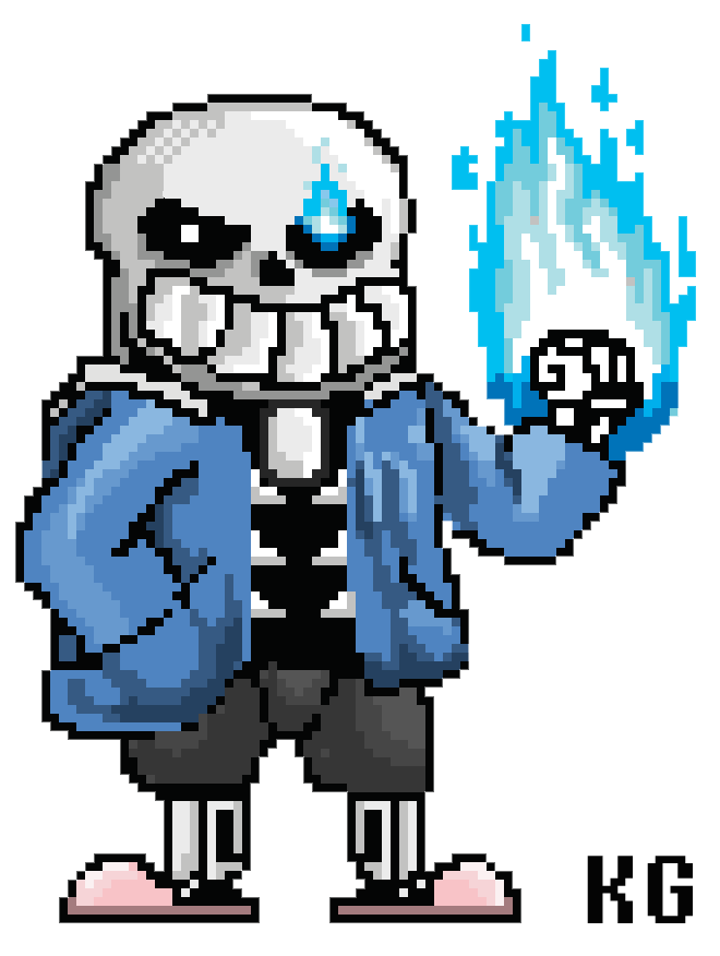 Sans sprite png. Image the skeleton arcade