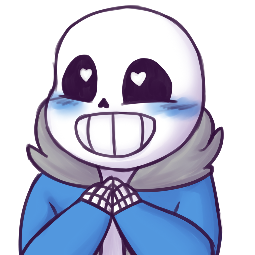Sans face undertale png. The game images happy
