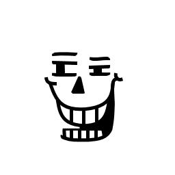 Undertale sans face png. Faces decals prints megathread