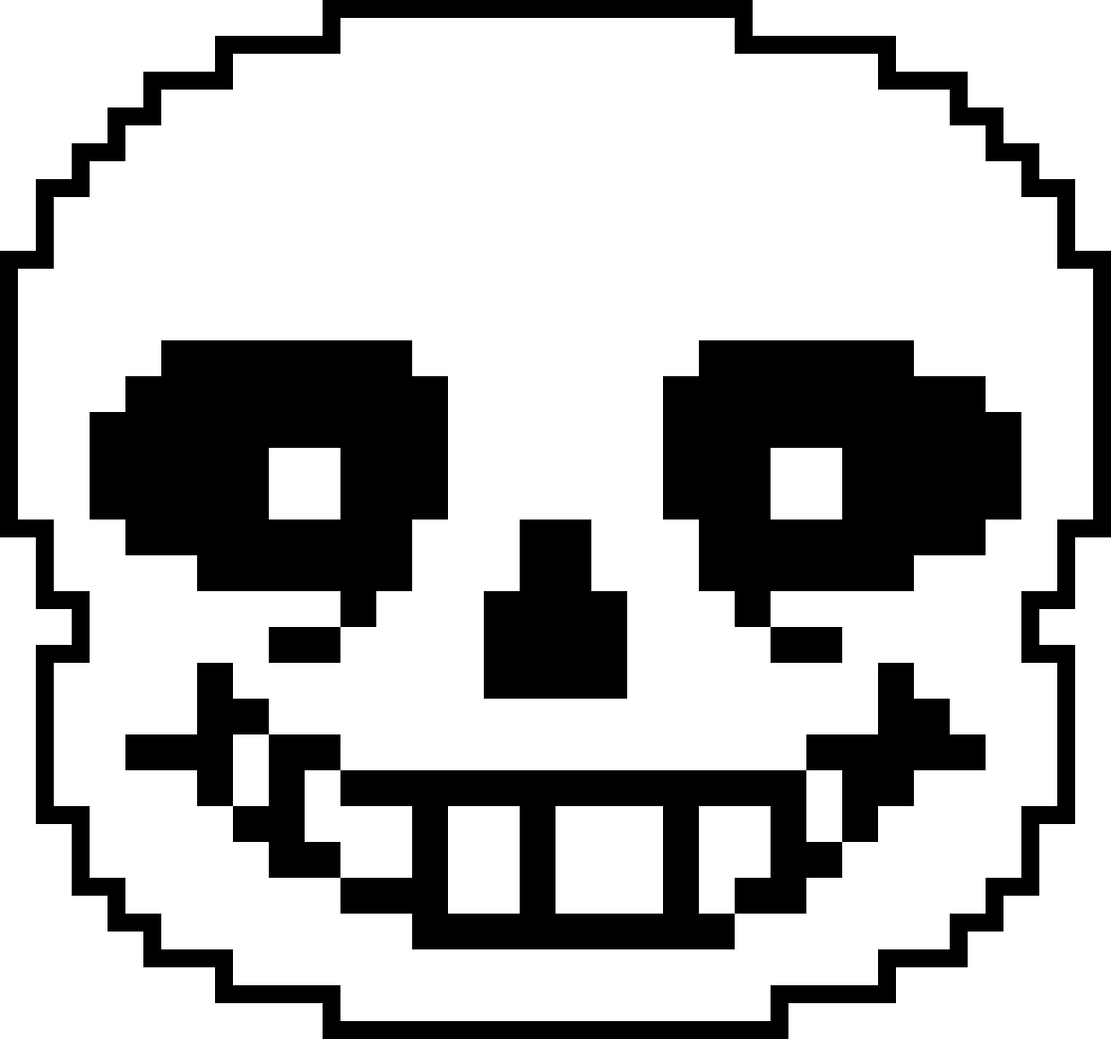 Sans face undertale png. Image s high resolution