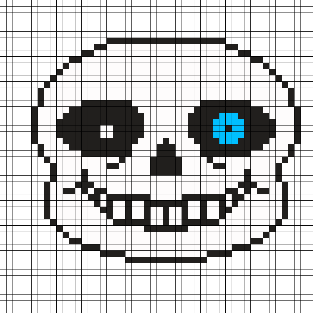 Sans face undertale png. Mask perler bead pattern