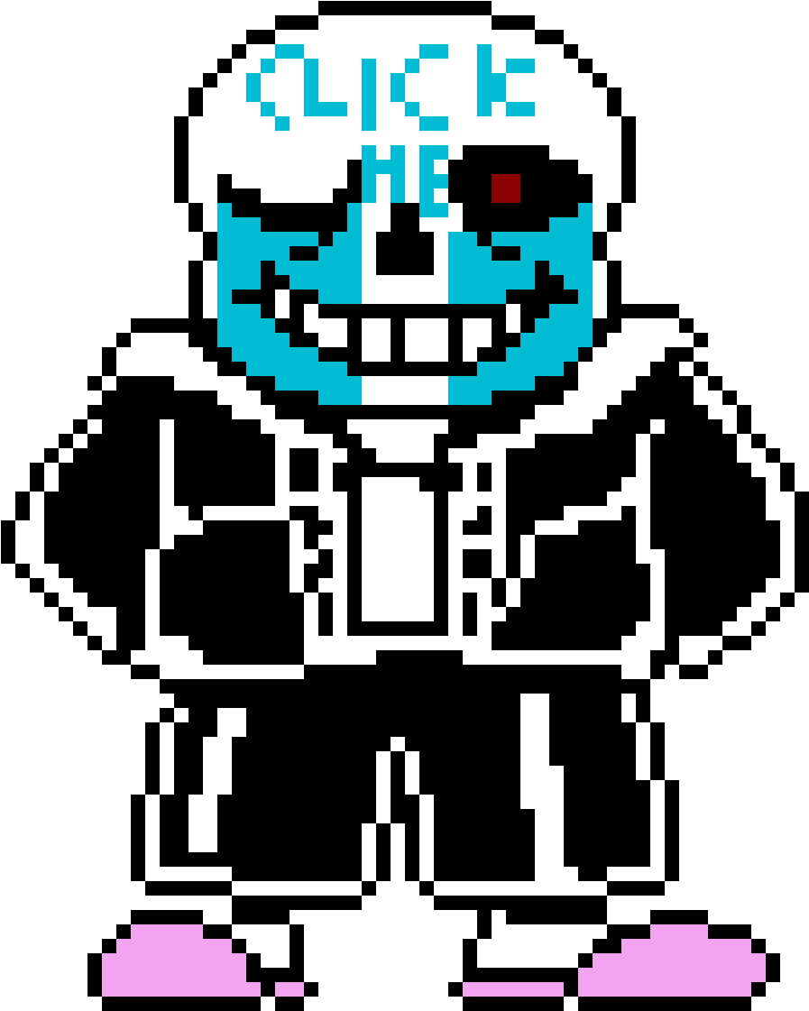 Sans gif png. Download clickertale image with