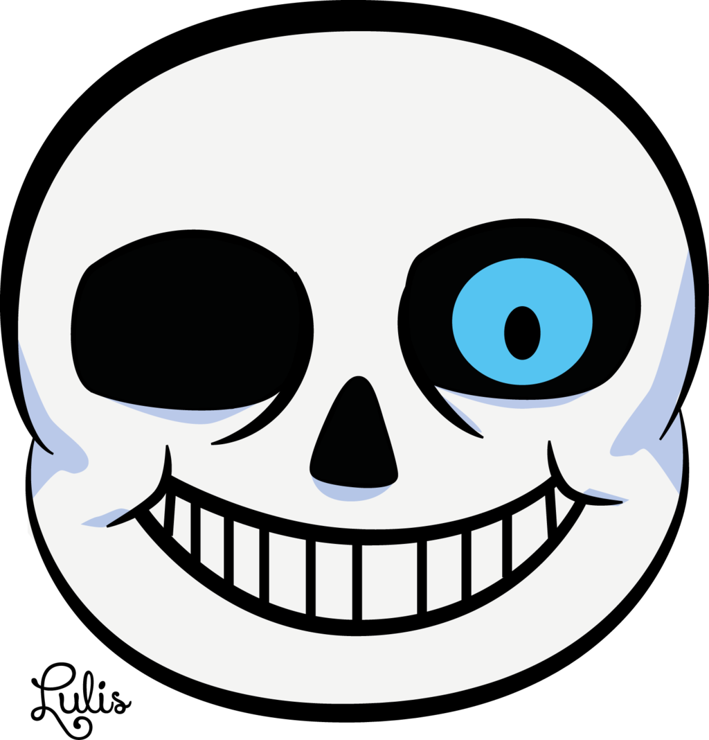 Sans mouth png. Head by lulis chan