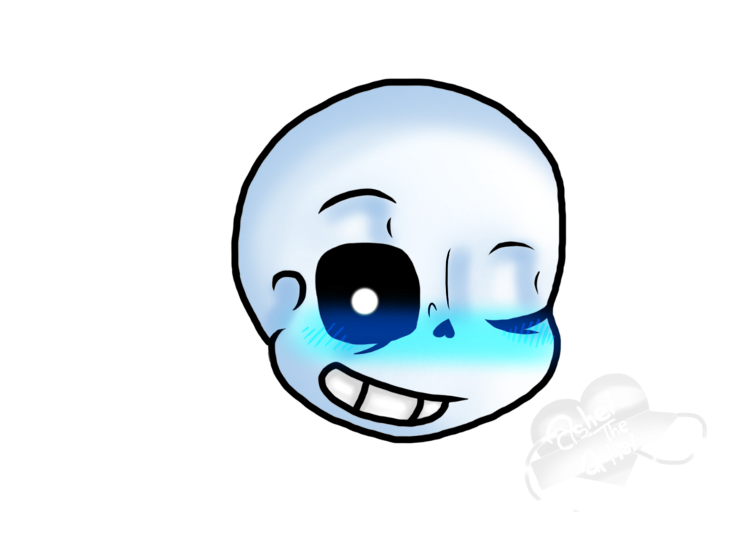 Sans mouth png. The skeleton by ashleighartisrt