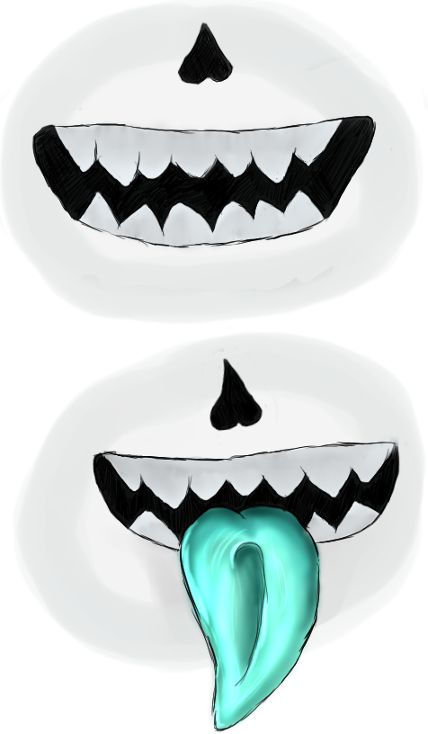 Sans mouth png. Open practice by bleachedsoulreaper