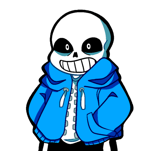 Image youtube poop wiki. Sans png clip art black and white stock