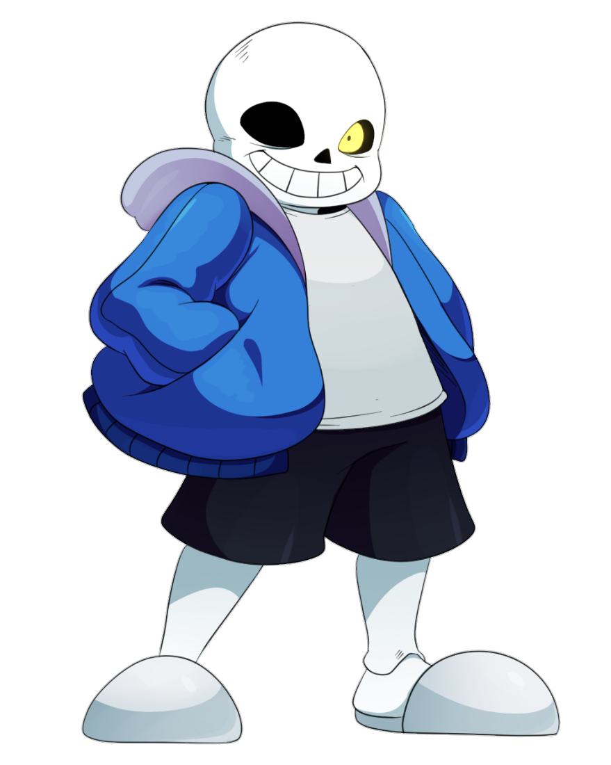Sans png. Image character profile wikia