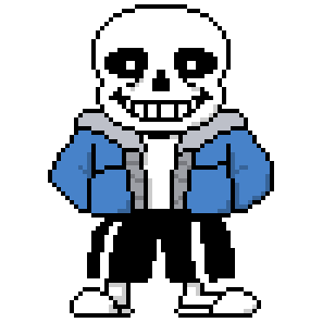 Images in collection page. Undertale sans png image library library