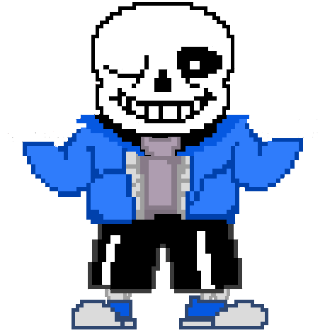 Sans sprite colored png. Image tumblr static yl