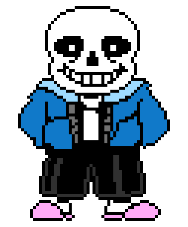 Sans sprite colored png. Steam community guide how