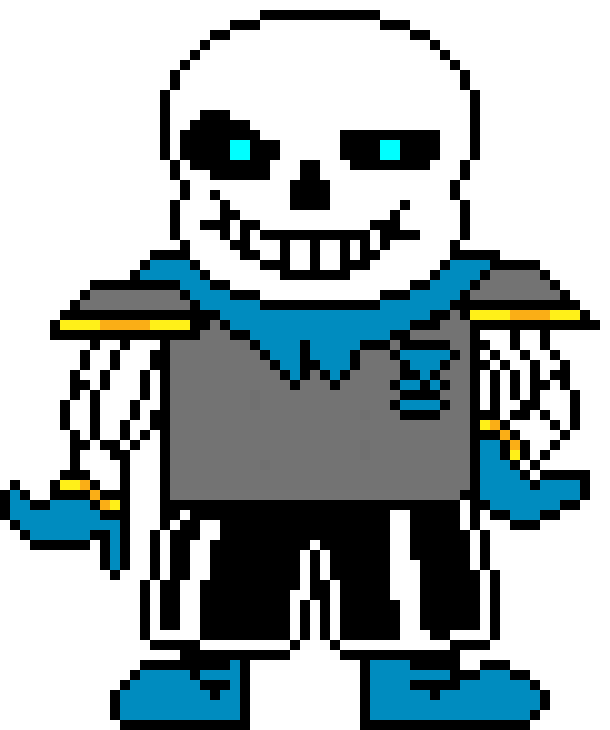 Sans sprite colored png. Underswap v by drunkpotato