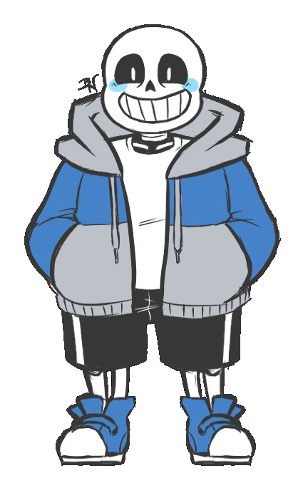 Image standing thing rp. Sans undertale png black and white library