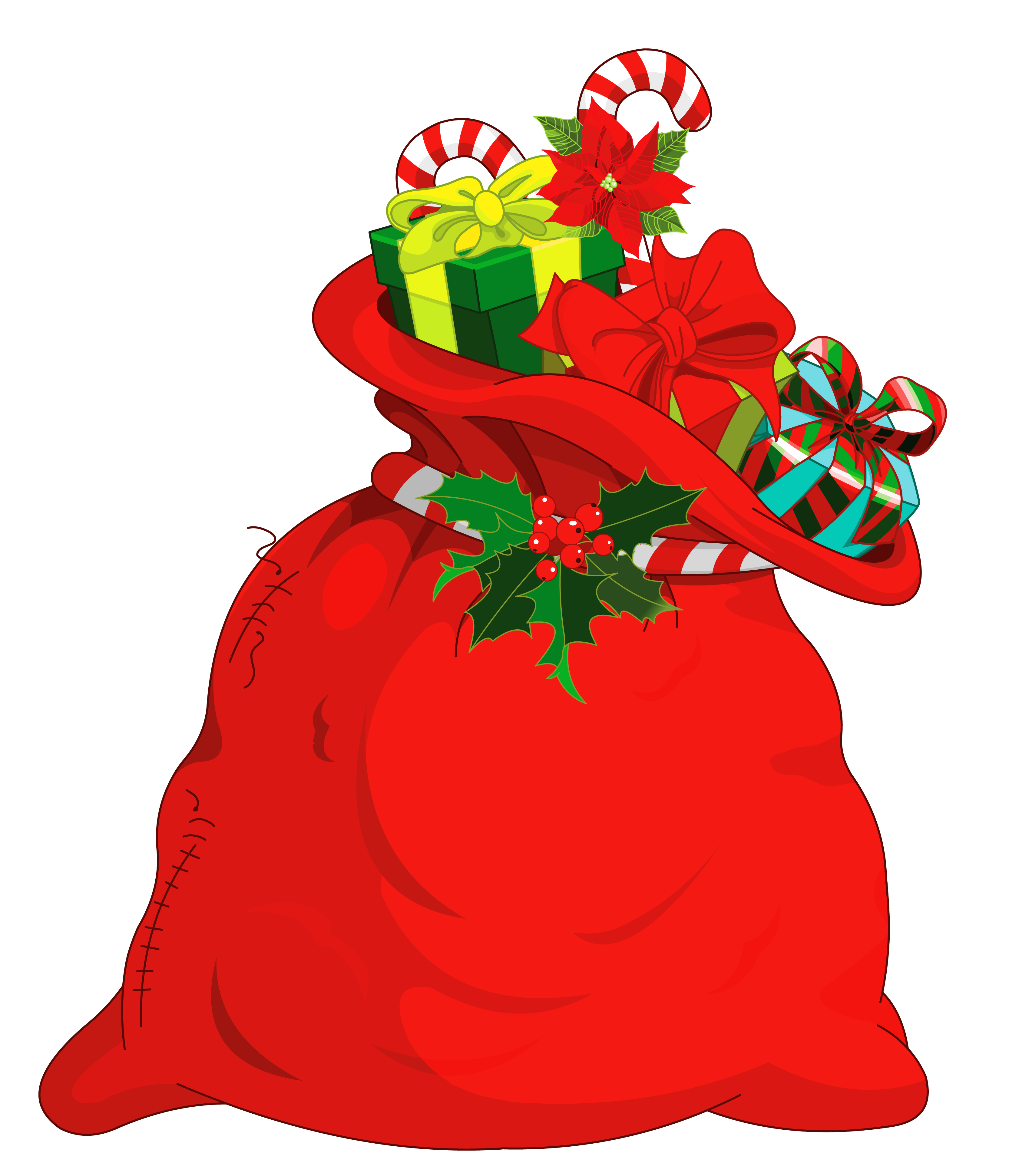 Santa bag png. Christmas picture gallery yopriceville