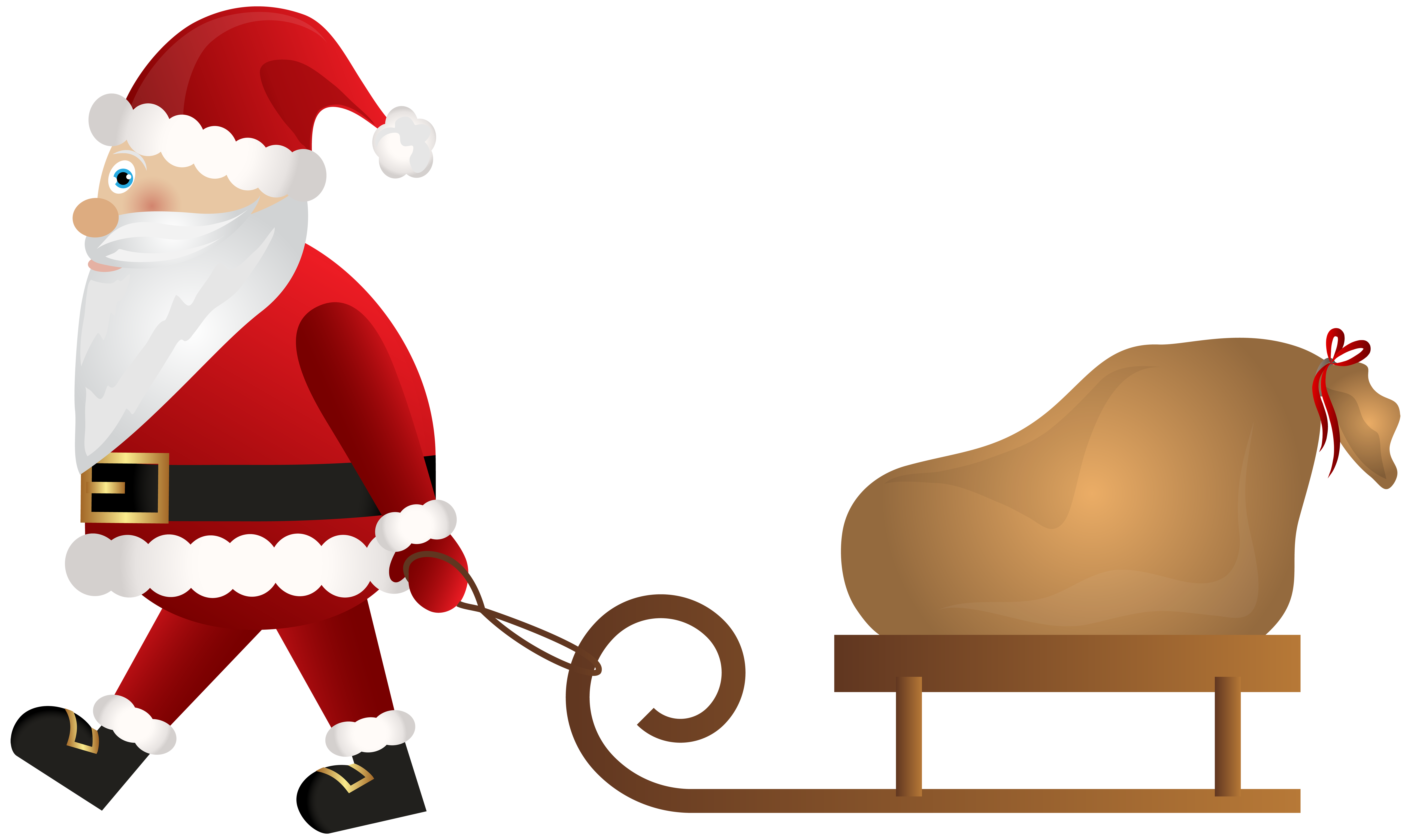 Santa claus sleigh png. With clip art gallery