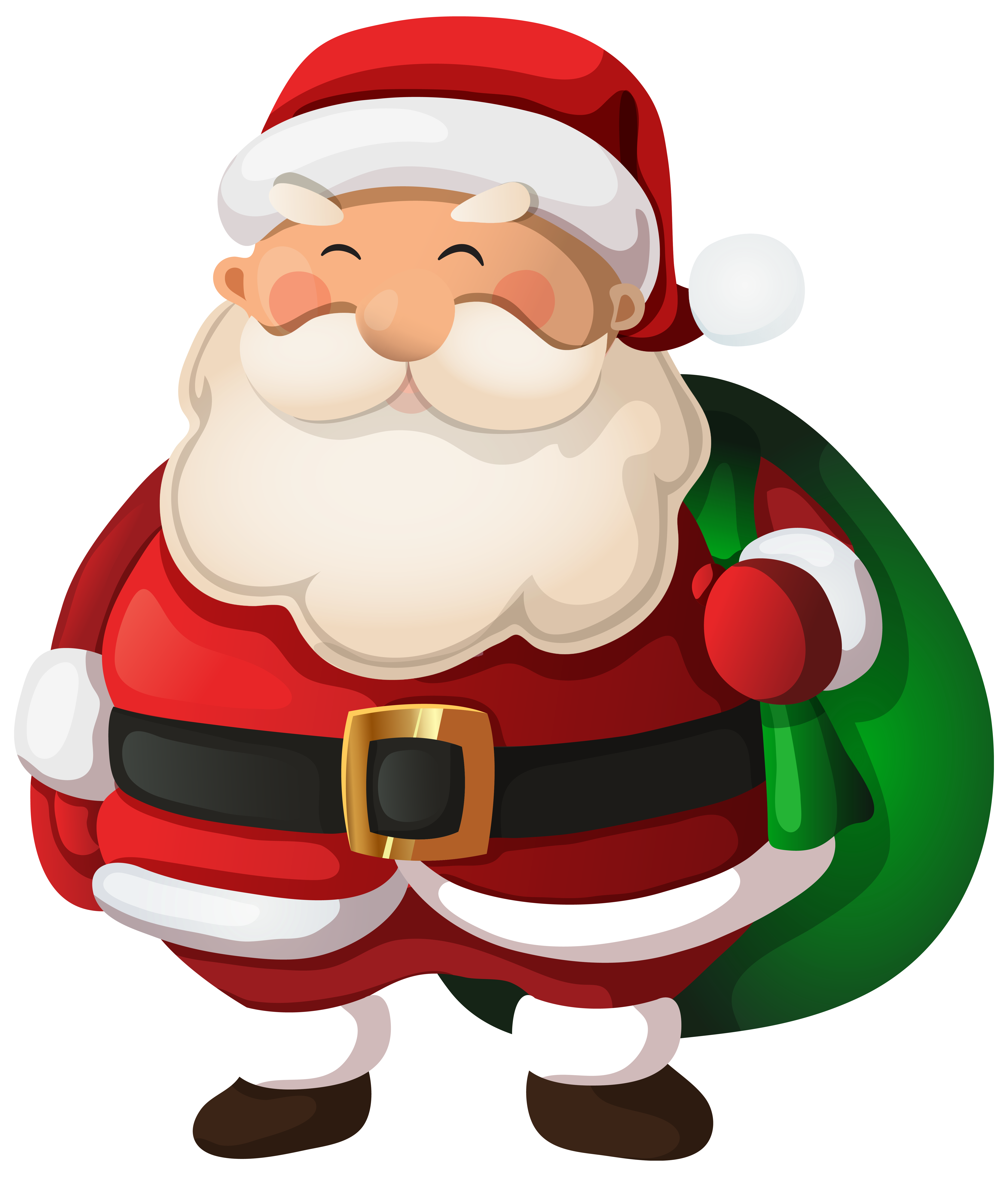 Santa clip art png. Claus image gallery yopriceville
