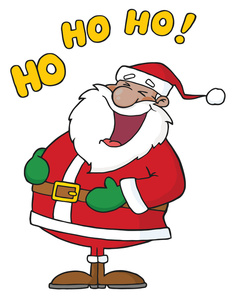 Free jolly image laughing. Santa clipart graphic