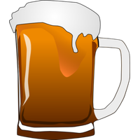 Santa clipart beer. Download category png and