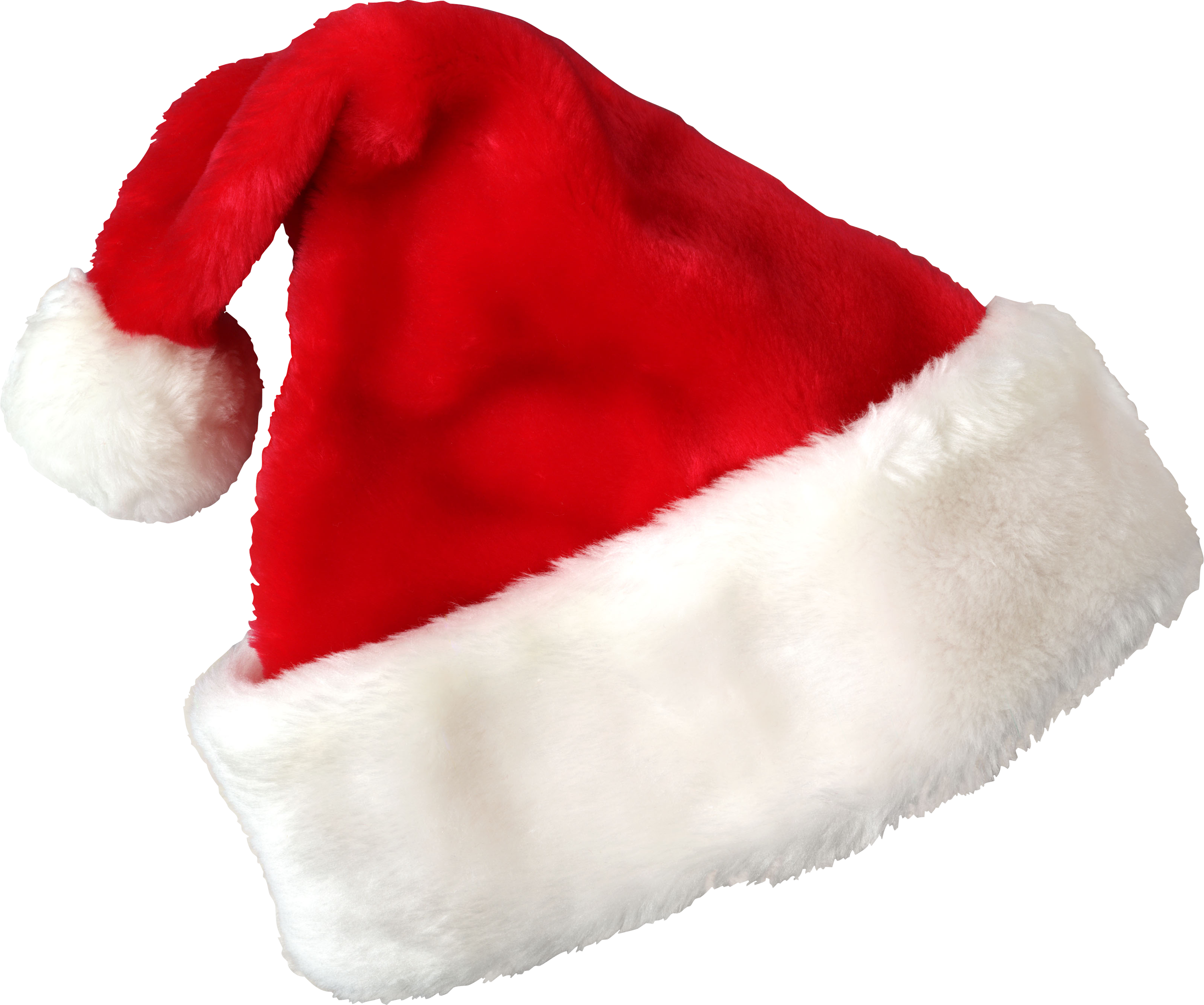 Santa clothes png. Christmas hat three isolated