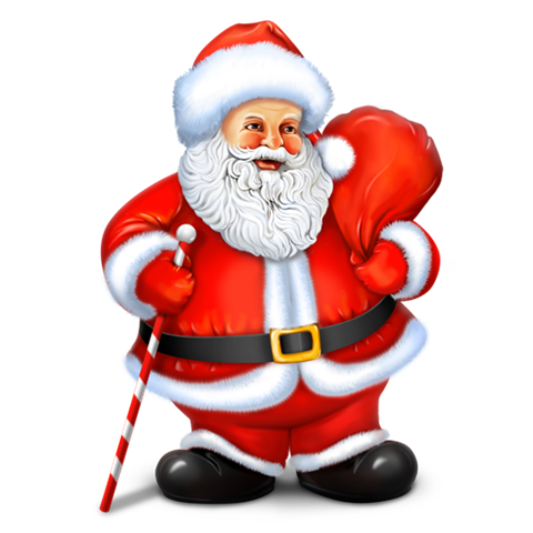Santa hand free photography png overlay. Claus images transparent download