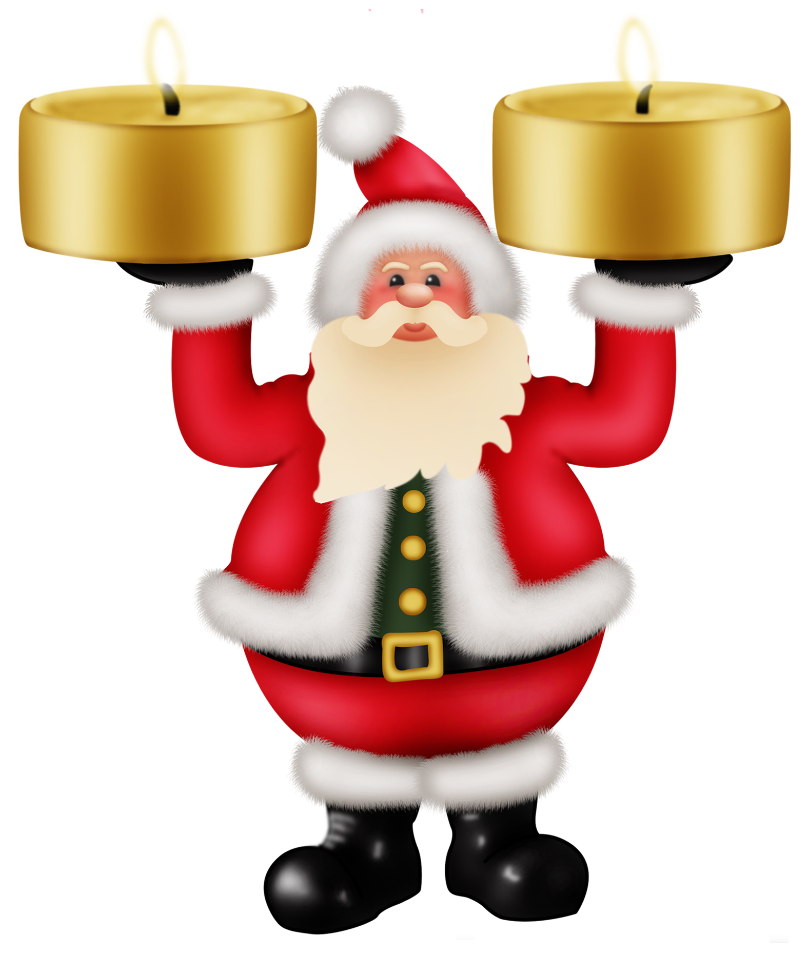 Santa hand free photography png overlay. Claus images download image