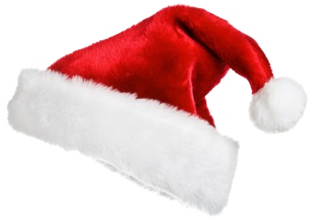 Christmas png hat. Free santa claus transparent
