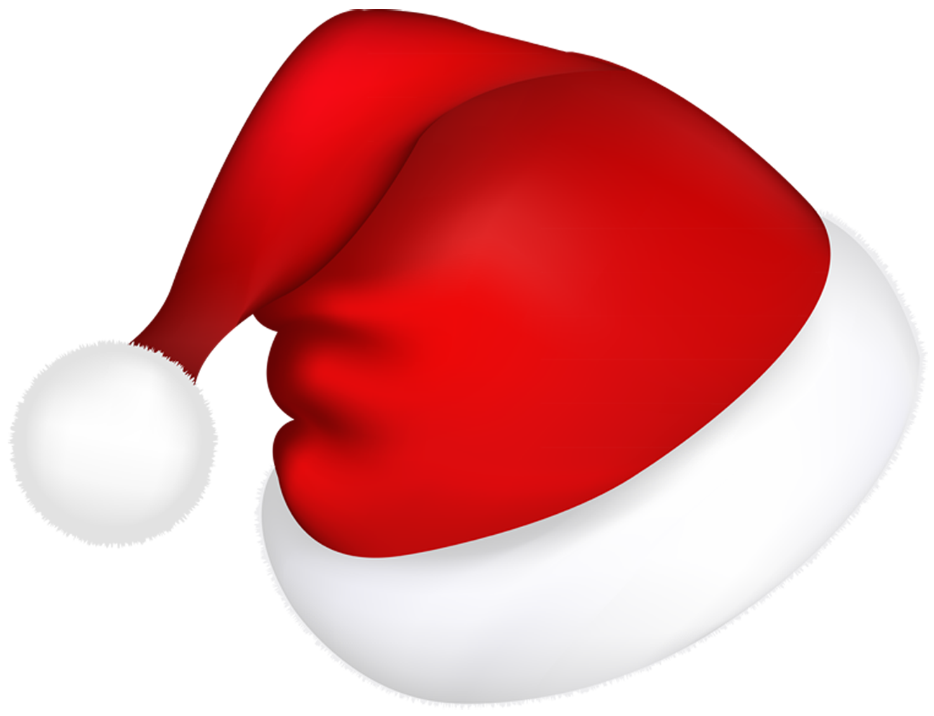 Santa hat png. Large red picture