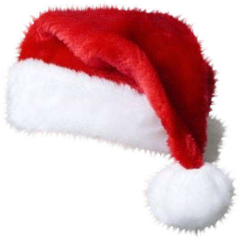 Santa hat and beard png