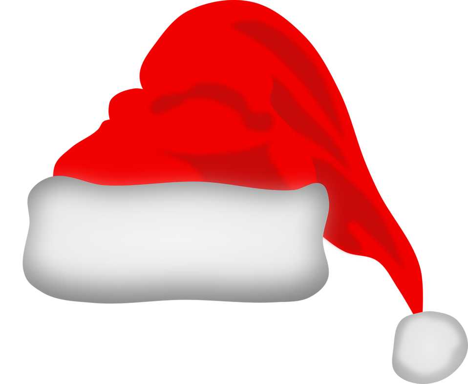 Vector santa different. Hat free stock photo