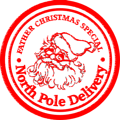 Santa stamp png. Xmas transparent by thekevolution