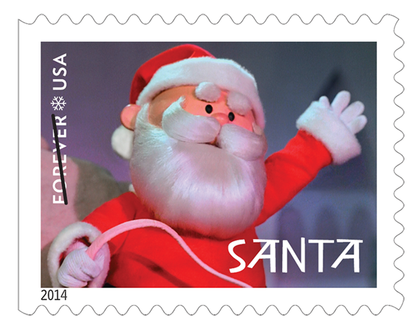Santa stamp png. Send your letters to