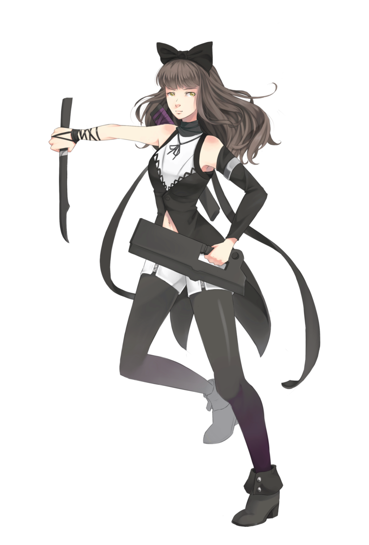 Sao transparent rwby. Blake fanart by supertschakko