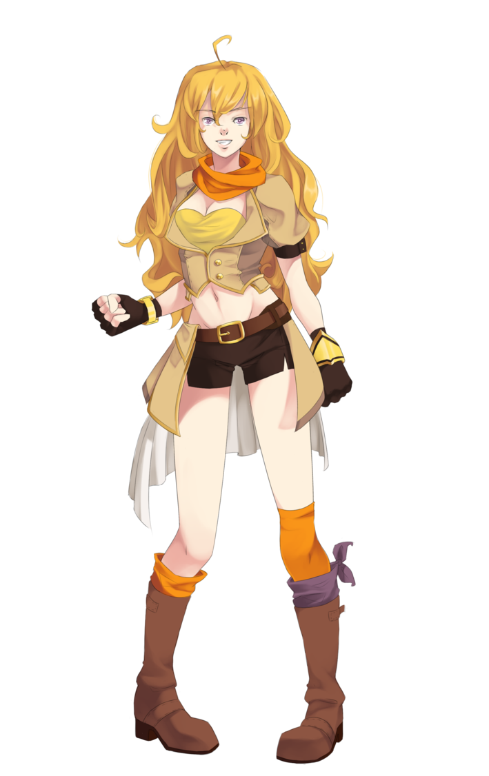 Sao transparent rwby. Yang fanart by supertschakko