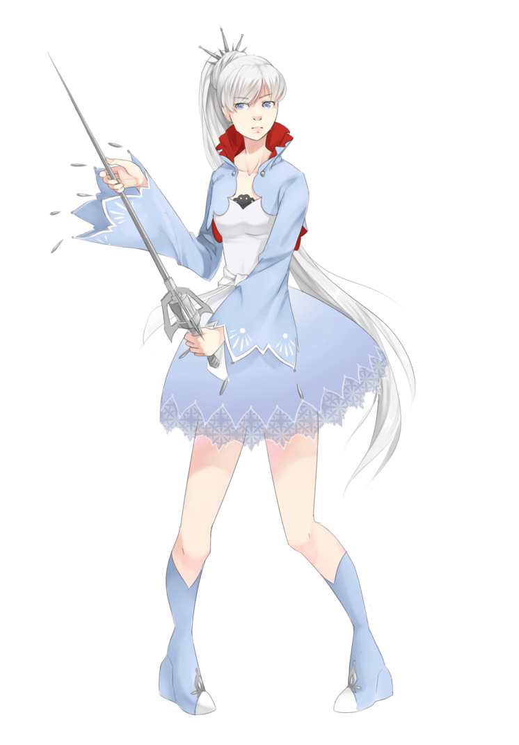 Sao transparent rwby. Weiss fanart by supertschakko