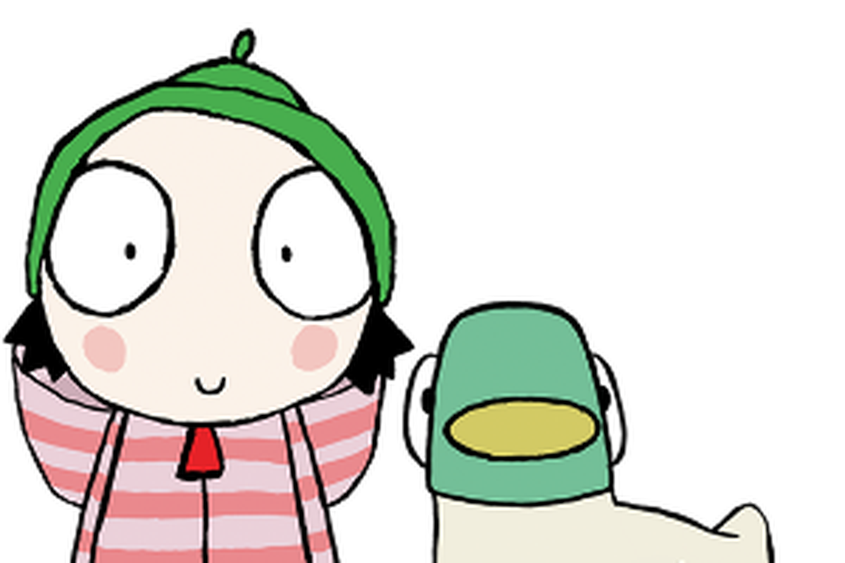 Sarah and duck png