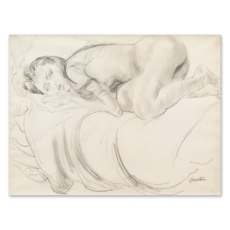Sargent drawing figure. Study of sunita c