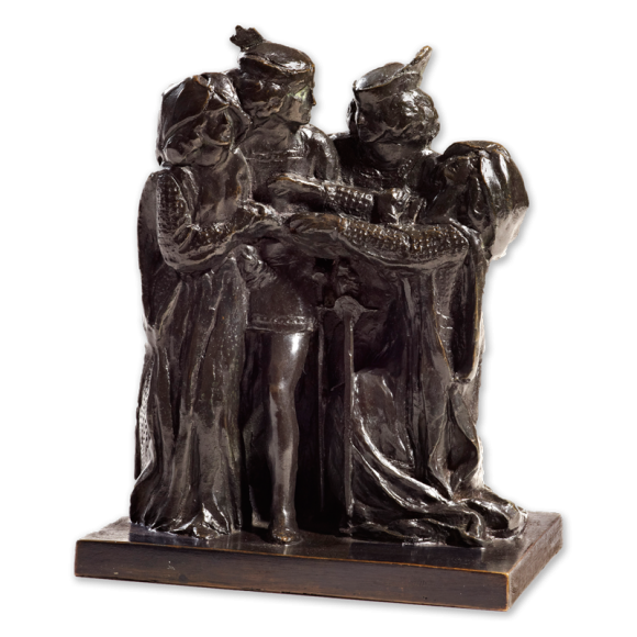 Sargent drawing sculpture. How they met themselves