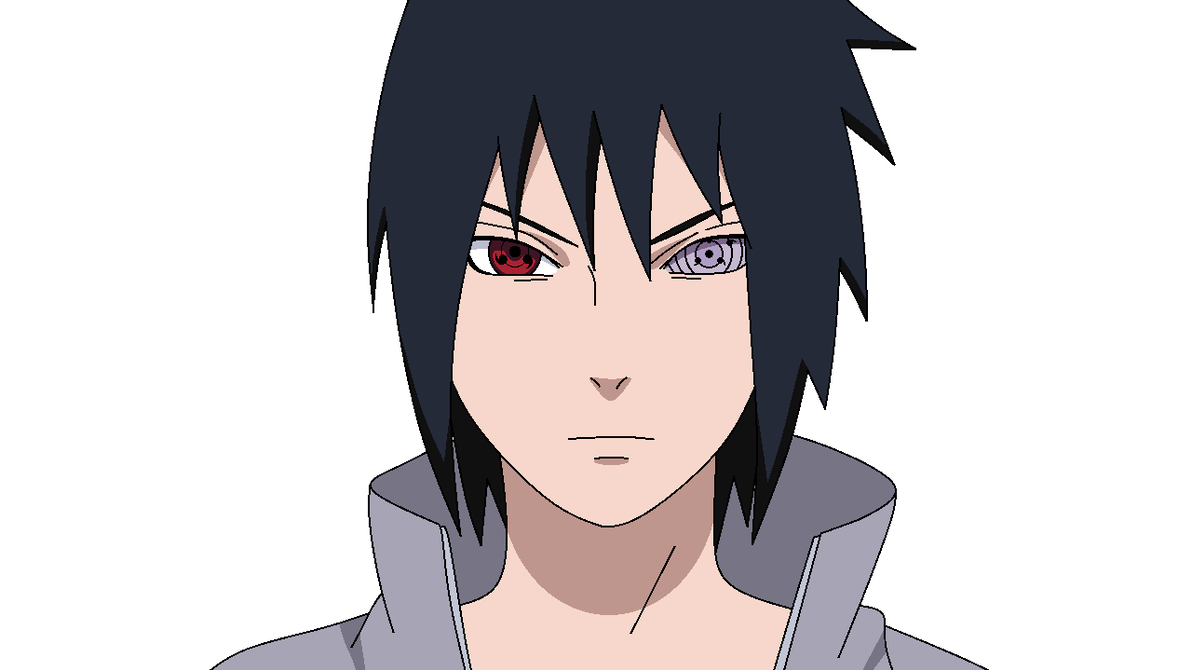 Sasuke head png. Uchiha six paths full