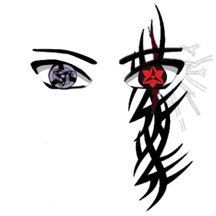 Sasuke rinnegan face decal png. Ms roblox
