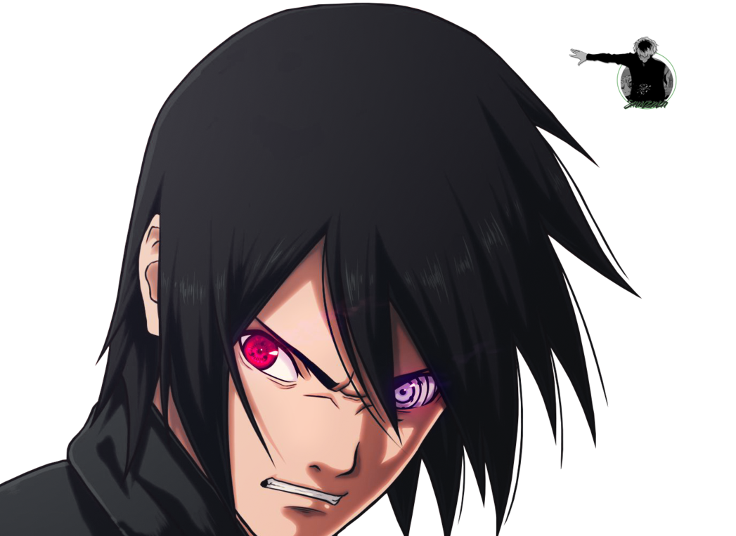 Sasuke rinnegan png. Eveil by renderland on
