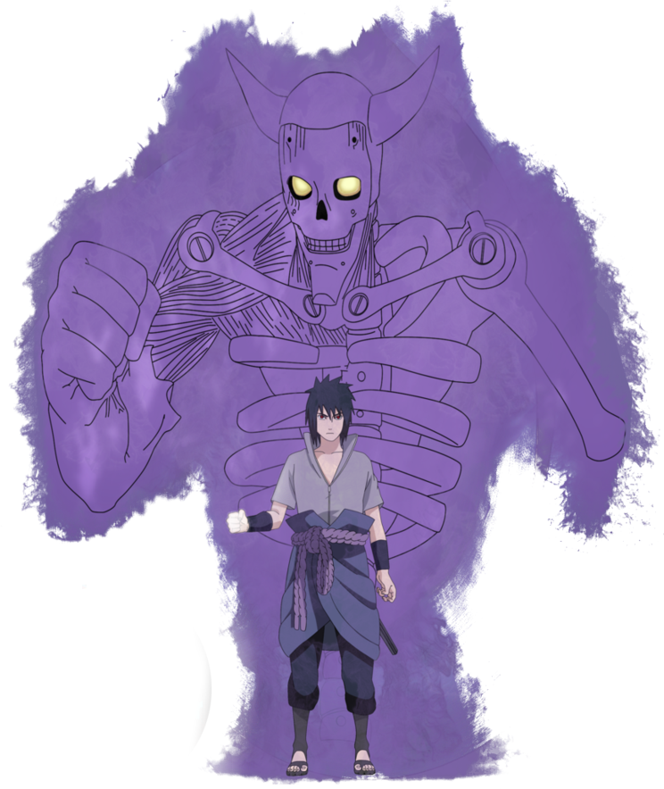 Sasuke Susanoo Transparent & PNG Clipart Free Download - YA-webdesign
